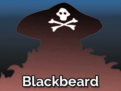 Blackbeard by Frank Oden