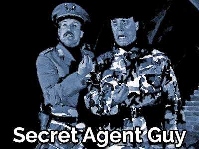 Secret Agent Guy by Frank Oden and Reno Goodale